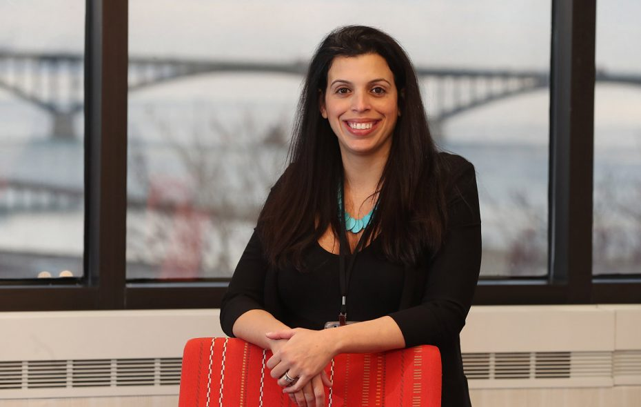 Lauren Lopez is vice president of Rich Products' desserts business unit. (Sharon Cantillon/Buffalo News)