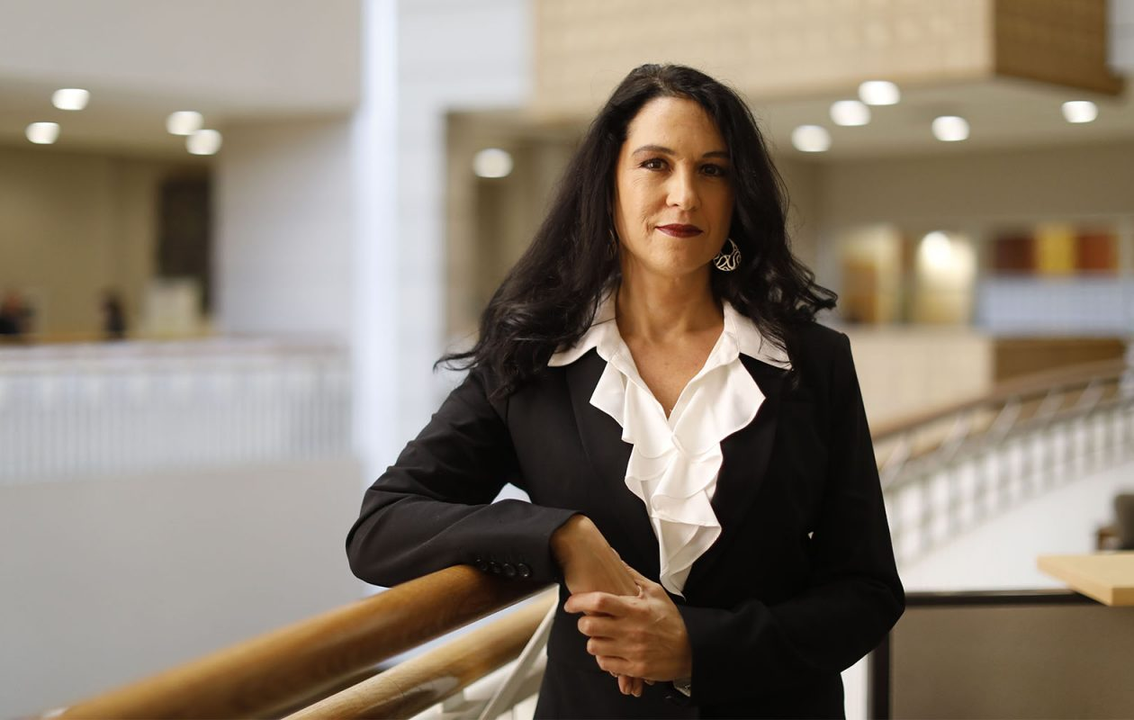 Rikki A. Cannioto, assistant professor of oncology at Roswell Park Comprehensive Cancer Center. (Derek Gee/Buffalo News)