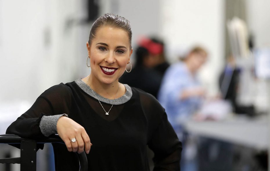 Buffalo Filter President and CEO Samantha Bonano.    (Mark Mulville/Buffalo News)