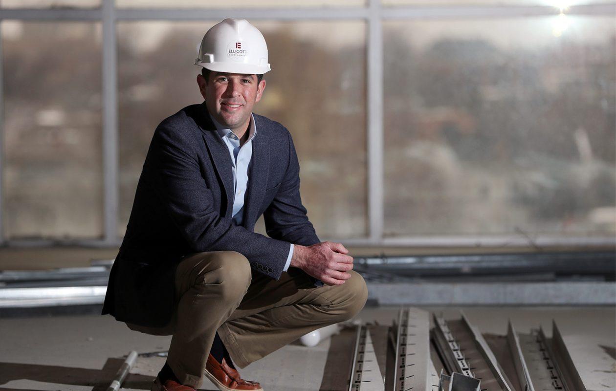 Tom Fox is the Director of Development for Ellicott Development. (Sharon Cantillon/Buffalo News)