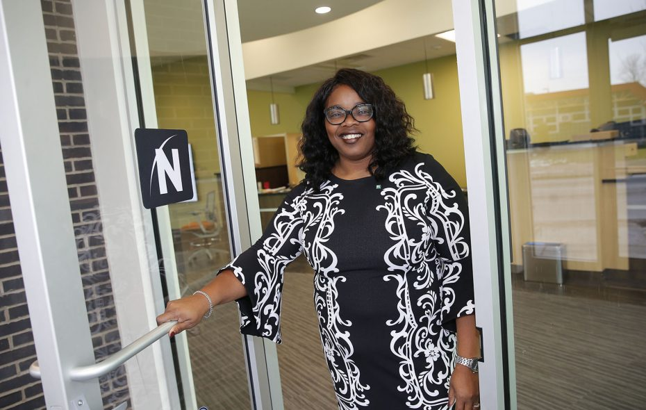 Northwest Bank executive Trina Burruss. (Robert Kirkham/Buffalo News)