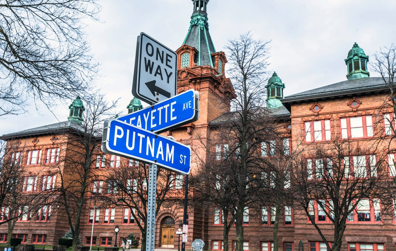 Blogger Angela Keppel uncovers the stories behind Buffalo's street names. (Matthew Digati)