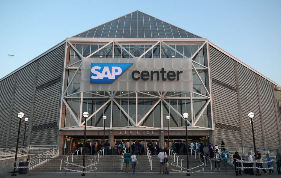 SAP Center in San Jose will be the site of this weekend's All-Star festivities (Getty Images).