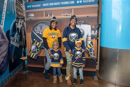 With a very brief lull in the schedule, the Buffalo Sabres hosted their Skills Challenge on Sunday, Jan. 6, 2018 in KeyBank Center, in front of more than 9,000 fans. Big defenseman Rasmus Ristolainen  won for the hardest shot - see who else stood out in the related article.