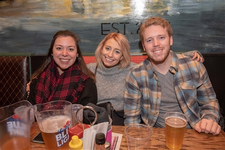Lisa and Joe Riniolo, owners of The Garage Cafe on Hertel, threw their first anniversary party on Saturday, Jan. 19, 2019, with free birthday cupcakes, $5 appetizers and live music by Miller & the Other Sinners. See who marked the occasion.