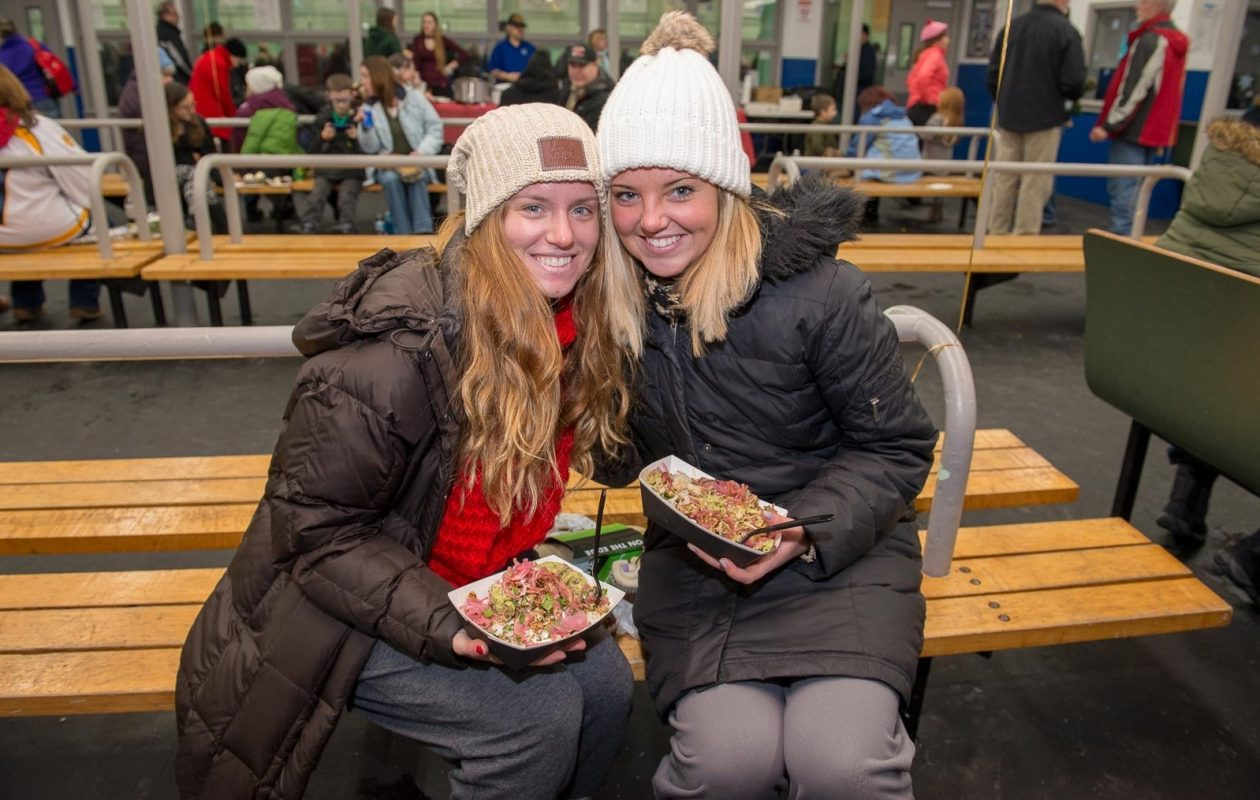 Smiling faces at the 2018 Tonawanda Winterfest, which returns for another year, from Friday through Monday. (Matt Weinberg/Special to The News)
