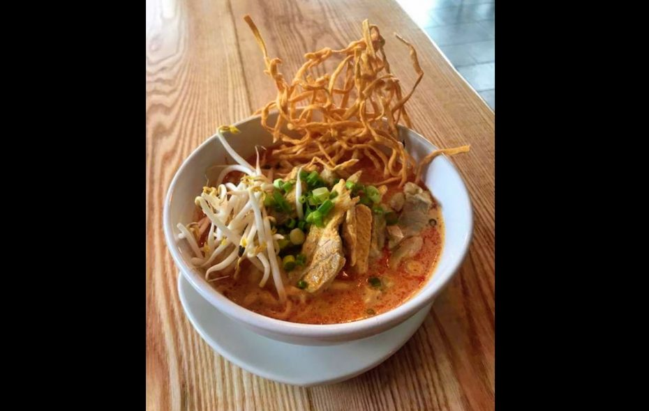 Khao soi coconut curry noodle soup at Water Lily Cafe in Cheektowaga. (Water Lily Cafe)