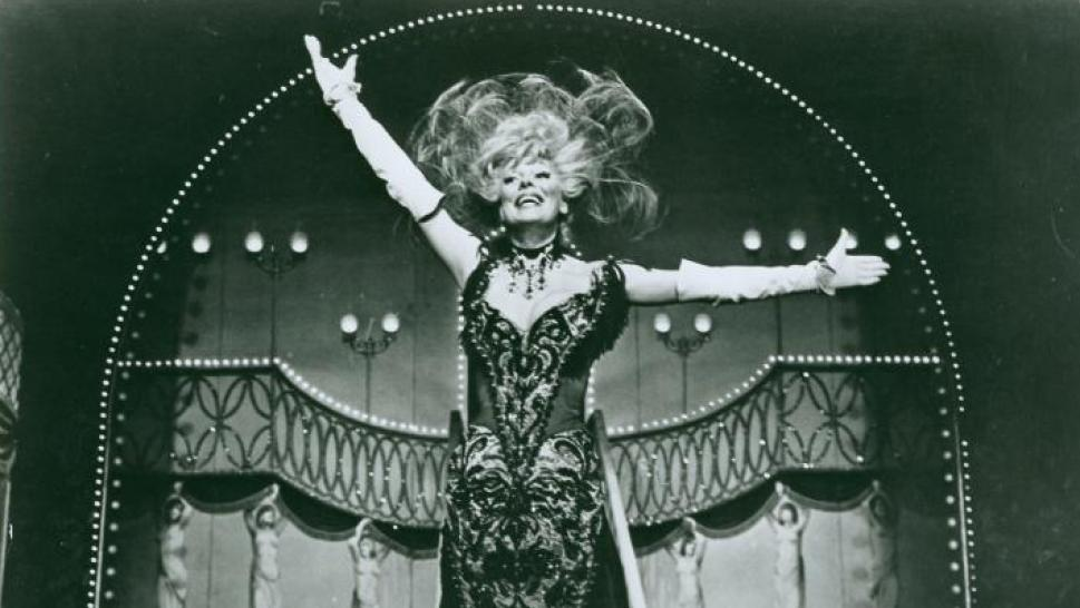 "Carol Channing in ""Hello, Dolly!"""