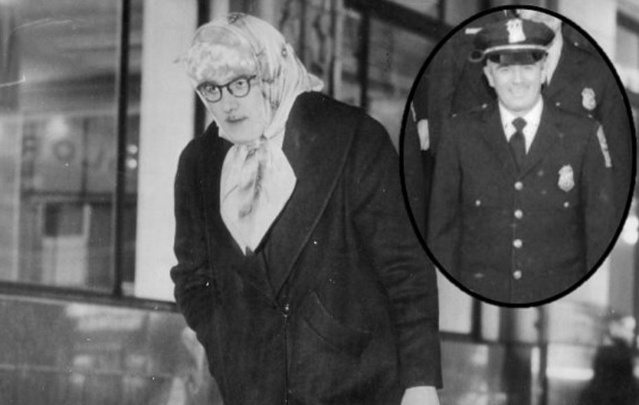 Was that 'Detective Doubtfire' prowling for purse snatchers 60 years ago?