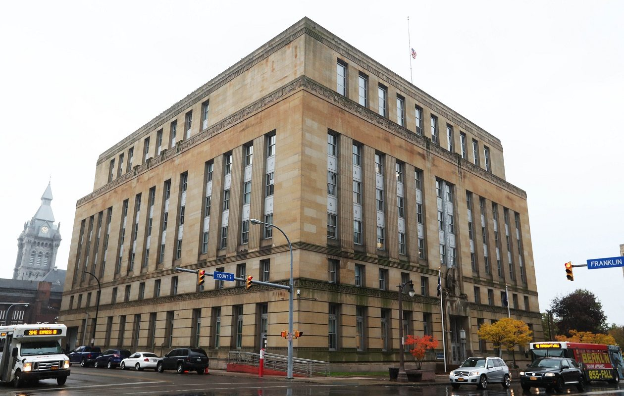 Buffalo Police Department and Fire Department headquarters. (Sharon Cantillon/News file photo)