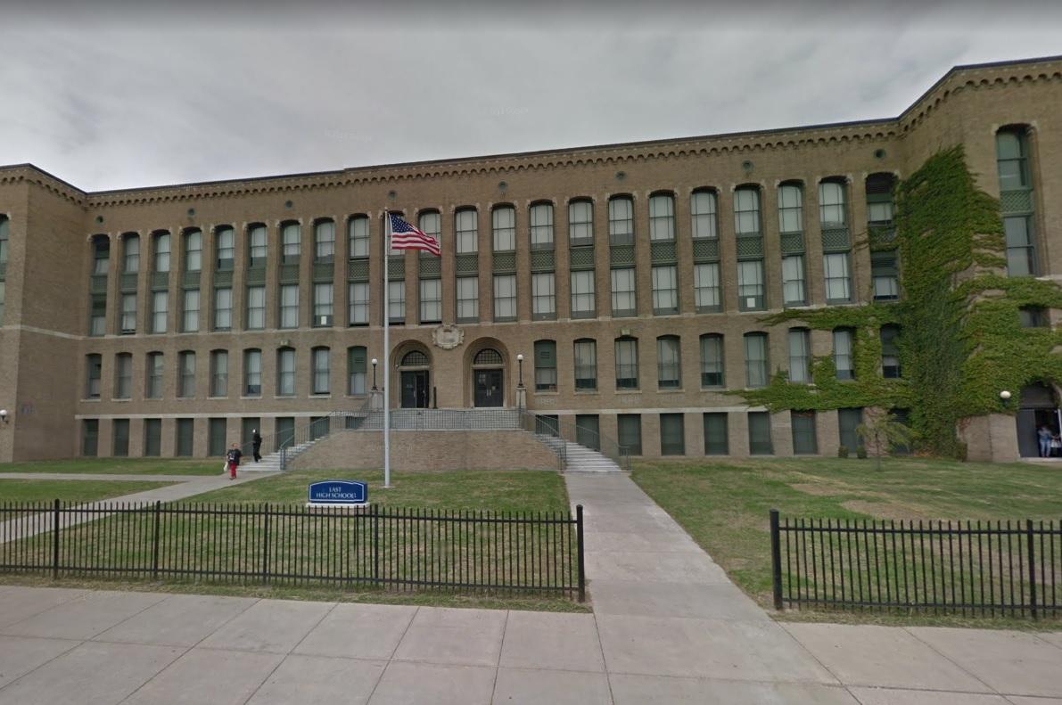 East High School on Northampton Street. (Google Streetview)