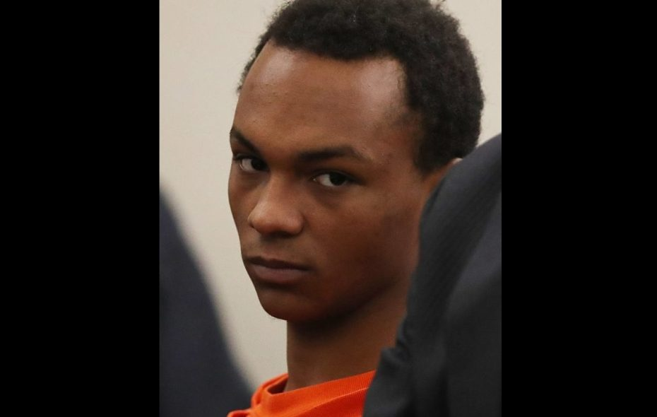 Romaine Jirdon, 20, admitted to acting in concert with his girlfriend, Alexandria Heath, in killing Thomas Heath of Buffalo by beating and stabbing him on Nov. 17, 2017. (News file photo)