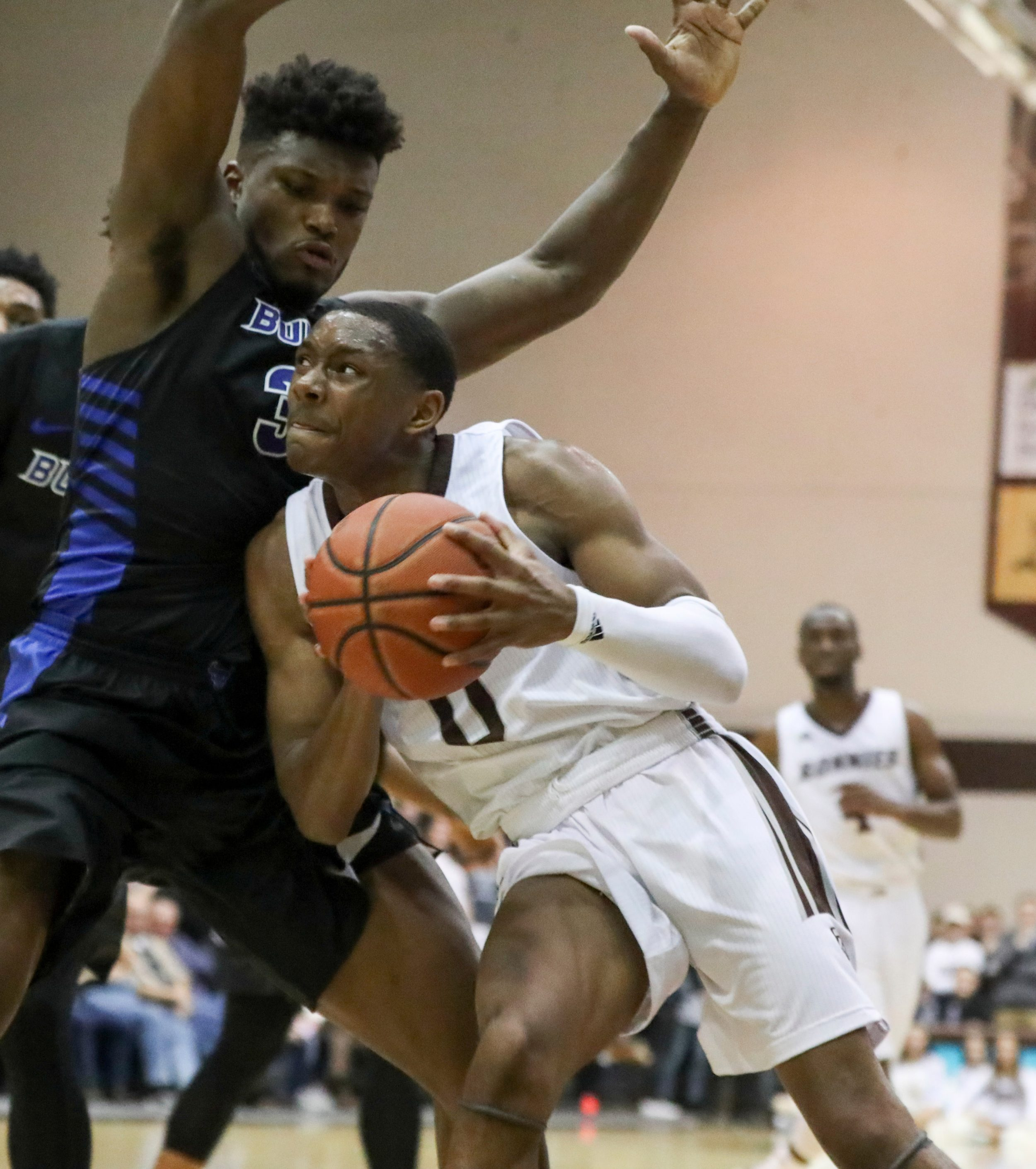 For St  Bonaventure's Kyle Lofton, Osun Osunniyi, 'together again' has