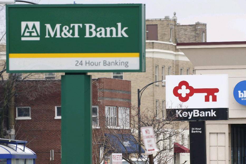 M&T and Key are among the banks impacted by the severe weather. (News file photo)