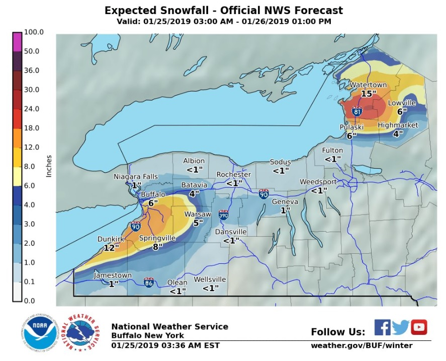 what to expect the next 36 hours  lake