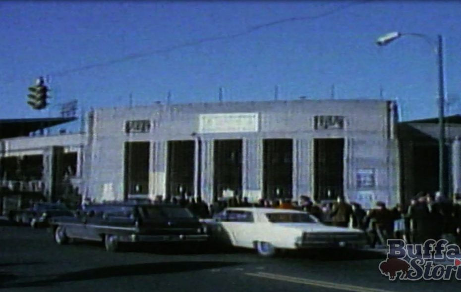 "War Memorial Stadium – the old ""Rockpile."""