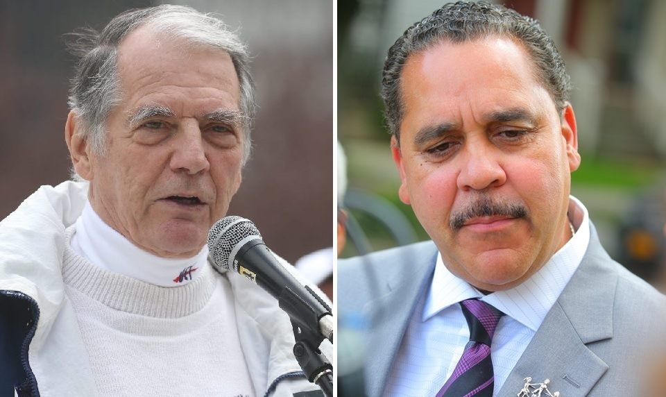 Buffalo Teachers Federation President Philip Rumore and Superintendent Kriner Cash are heading back to the bargaining table, three years after their 2016 deal ended a 12-year impasse. (News file photos)