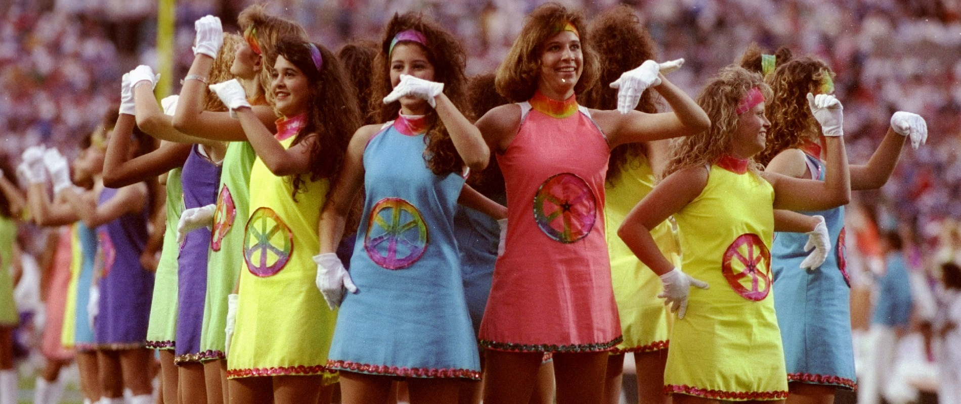 The Super Bowl XXV halftime show was not televised until after the game. (Mike Powell/Allsport/Getty Images)
