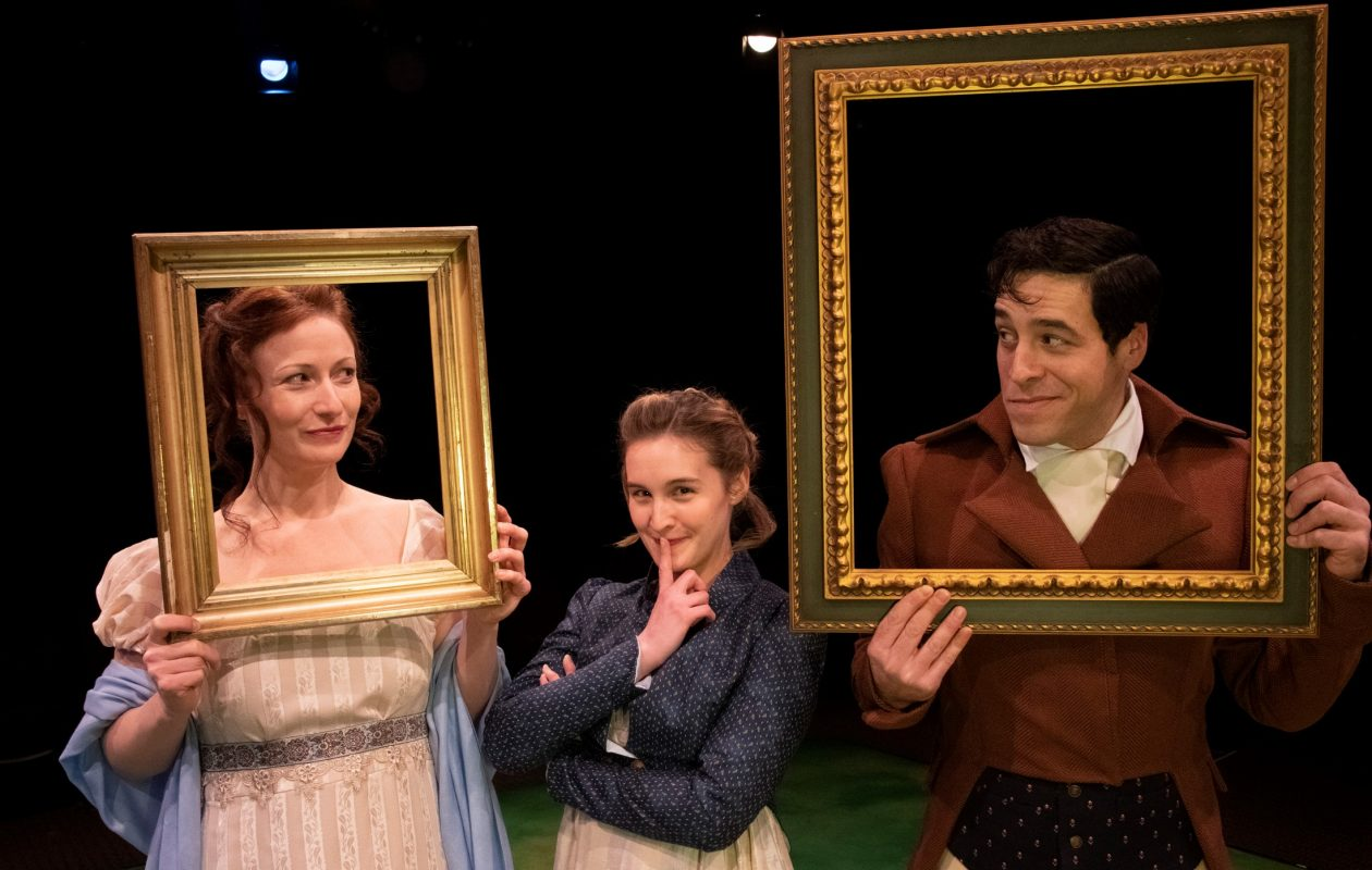 'Sense & Sensibility' is presented by the Irish Classical Theatre Company from Jan. 18 to Feb. Feb. 10. (Photo by Gene Witkowski)
