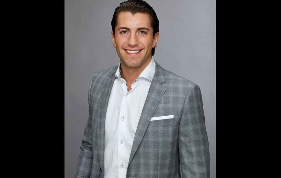 "Buffalo native Jason Tartick was a contestant on ""The Bachelor."""