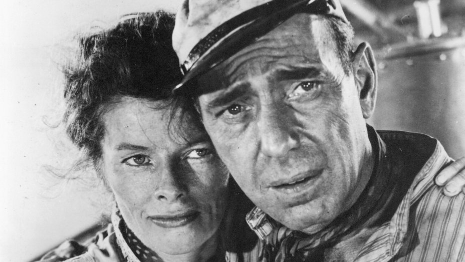 Humphrey Bogart won an Oscar for his role in 'The African Queen,' opposite Katharine Hepburn.