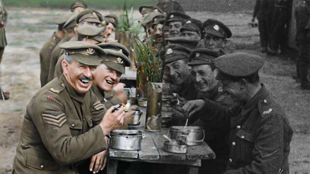 "Filmmaker Peter Jackson used new technology on World War I footage for his acclaimed new documentary ""They Shall Not Grow Old."" (Warner Bros.)"