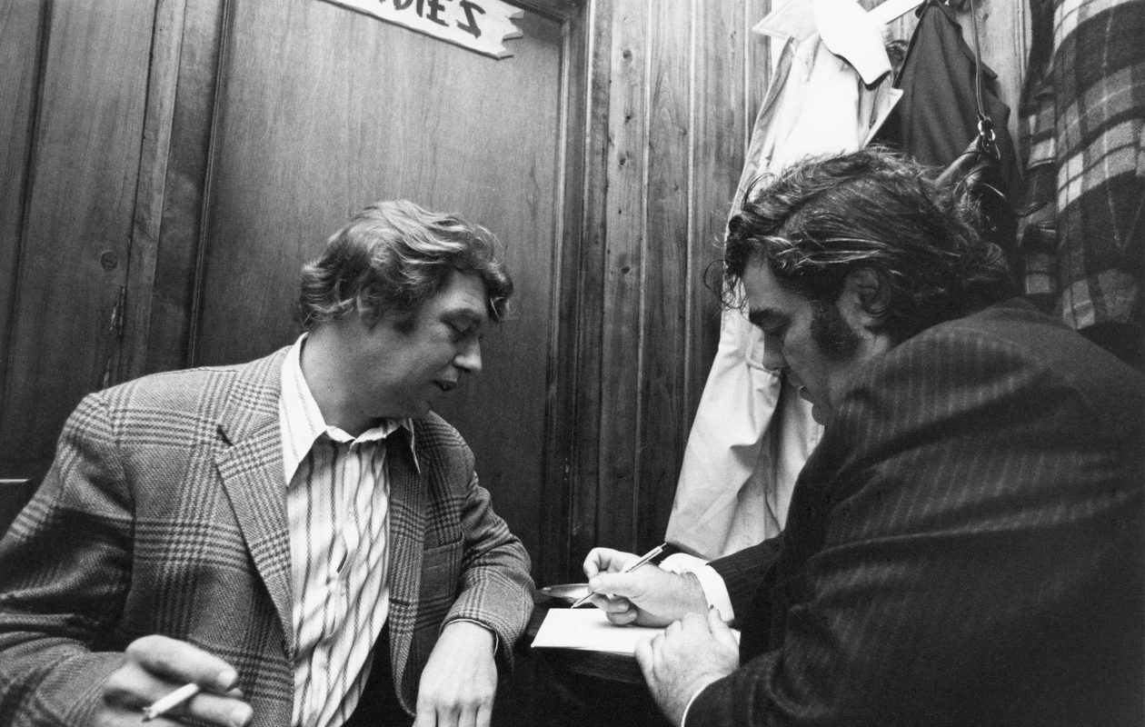 Pete Hamill, left, and Jimmy Breslin are the subjects of HBO's 'Breslin and Hamill: Deadline Artists.' (Brian Hamill, HBO)