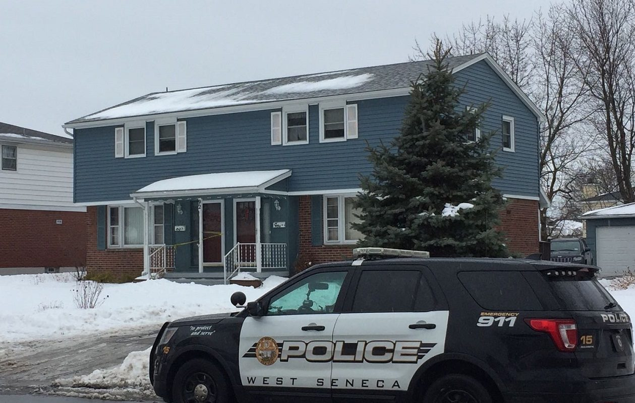 January's murder-suicide on French Lea Road was just one of many events in which West Seneca Police have withheld or made it difficult to obtain public information. (Keith McShea/Buffalo News)