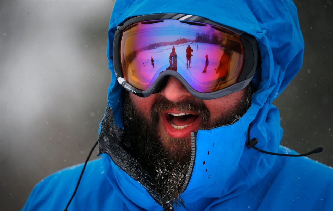 It won't be necessary to bundle up on Wednesday when Western New York will get a brief respite from the cold. (Mark Mulville/Buffalo News)