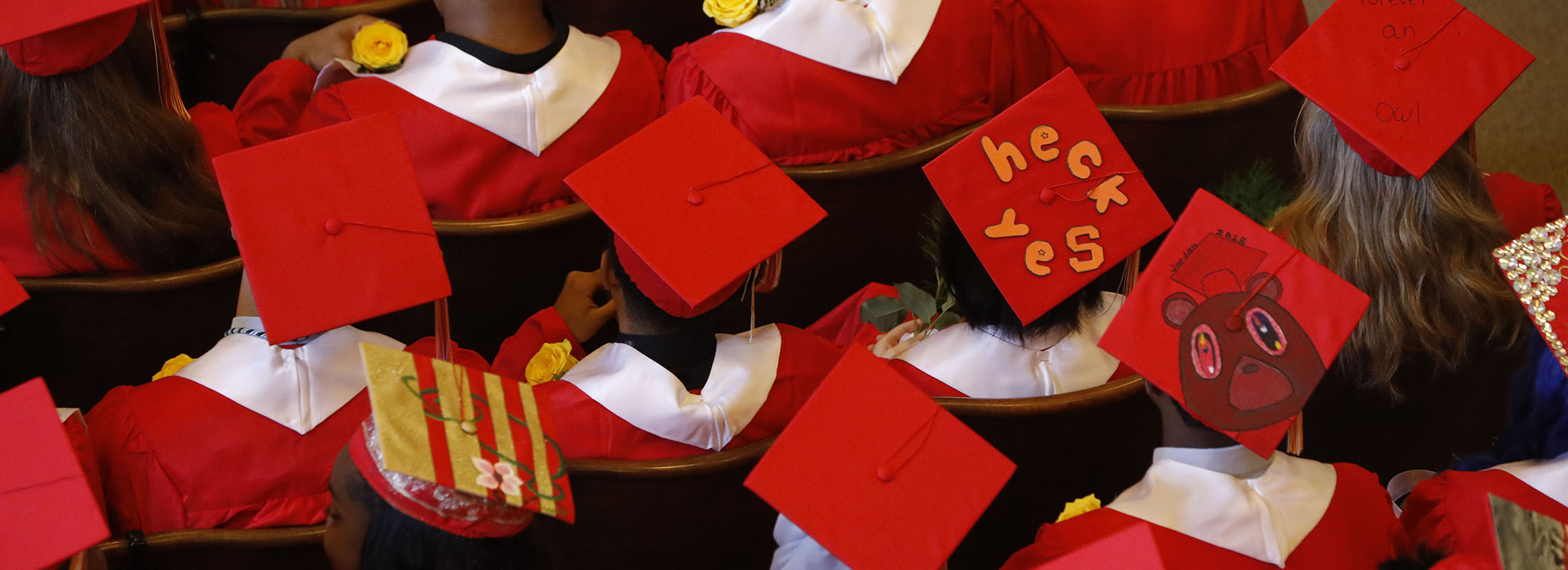 Graduation at Frederick Law Olmsted High School on June 21, 2018. (Derek Gee/News file photo)