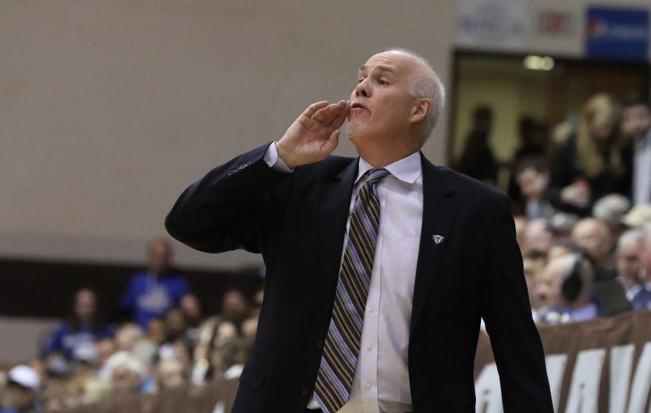 St. Bonaventure Bonnies head coach Mark Schmidt. (James P. McCoy/News file photo)