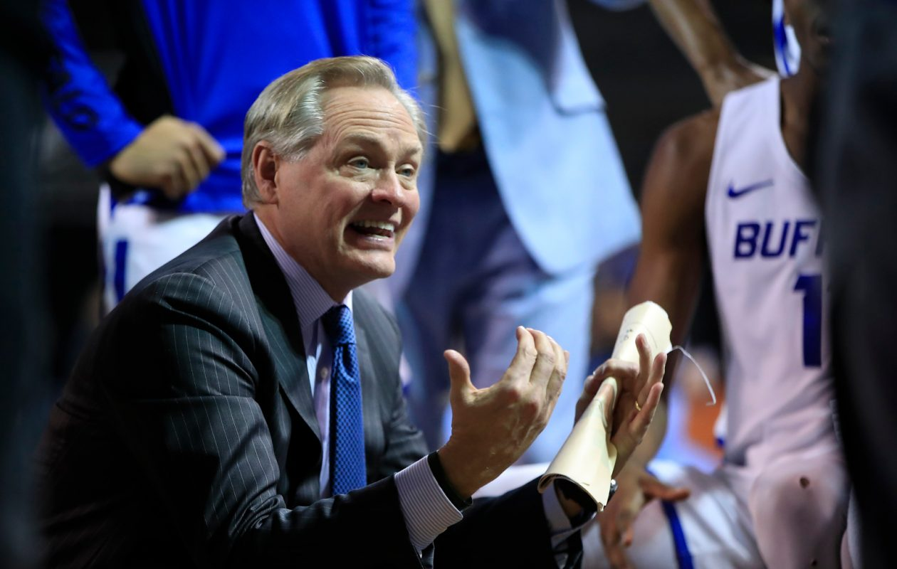 Buffalo men's basketball coach Jim Whitesell. (Harry Scull Jr./Buffalo News)