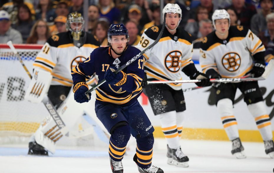 Sabres forward Vladimir Sobotka is coming off a five-goal season. (Harry Scull Jr./News file photo)