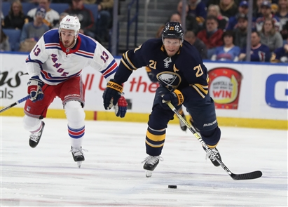 New York Rangers 6, Buffalo Sabres 2