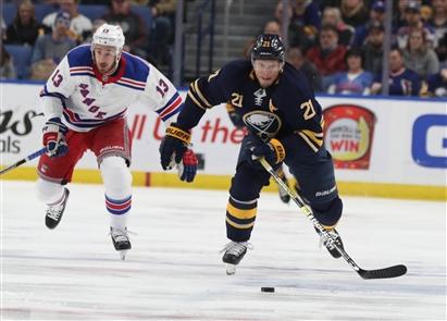 New York Rangers 6 Buffalo Sabres 2