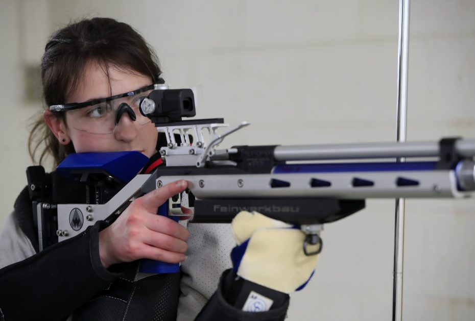 clarence high school-alexis kirk-rifle-usa junior olympics-2019
