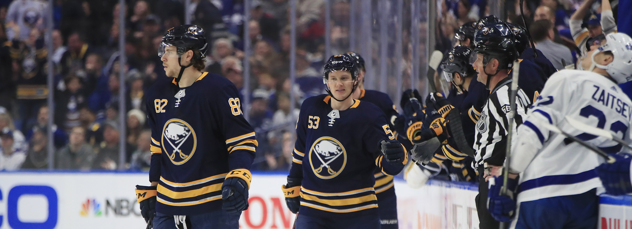 The Sabres are 3-7 in their last 10 games and are in the midst of a critical seven-game homestand. (Harry Scull Jr./News file photo)