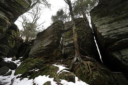 Panama Rocks, private park dating to 1885