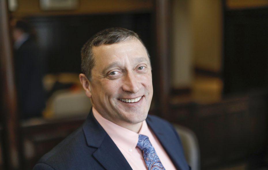 Joseph B. Bower Jr., president and CEO of CNB Financial Corp. (Derek Gee/Buffalo News)