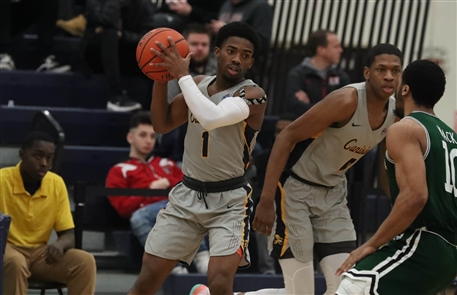 The Canisius Golden Griffins suffered a 70-65 loss to the Manhattan Jaspers on Sunday, Feb. 17, 2019, at the Koessler Athletic Center.