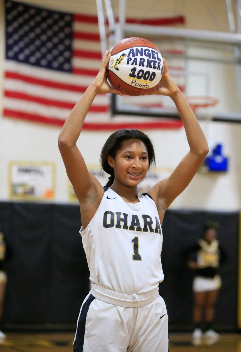 Parker-Angel-Cardinal O'Hara-Williamsville South-high school-Basketball-scull