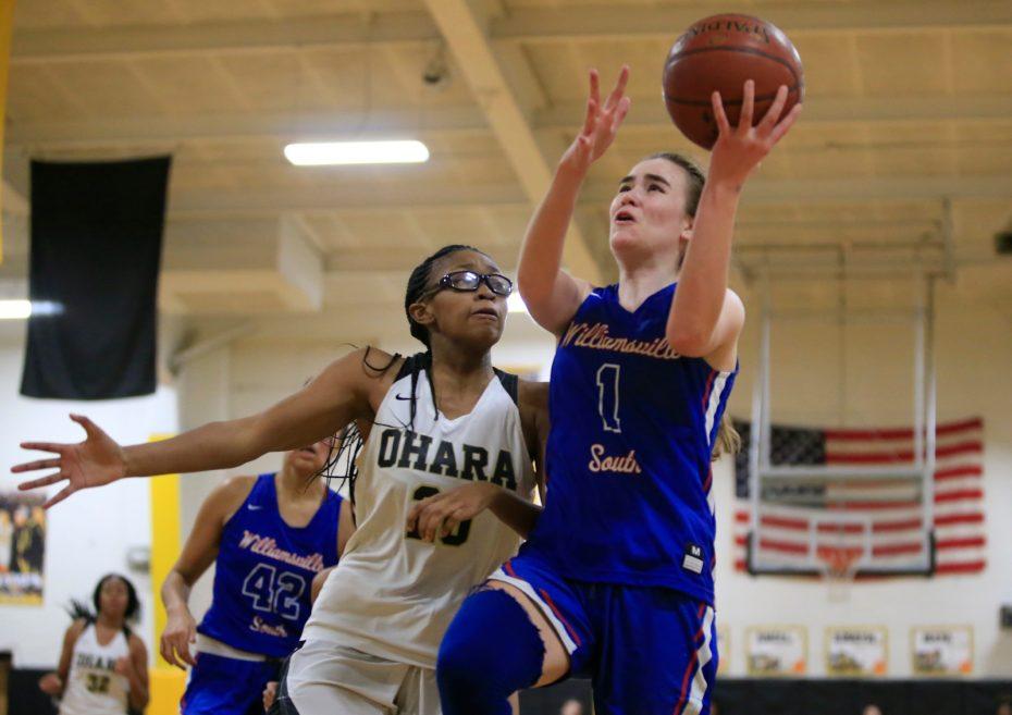 Cardinal O'Hara-Williamsville South-high school-Basketball-scull_Dolan-Hannah