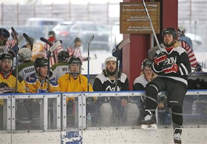 Labatt Blue Buffalo Pond Hockey Tournament
