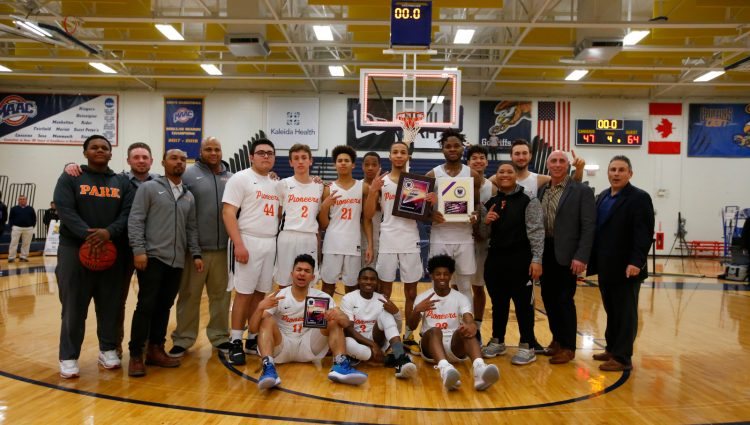 Team Photo-Champions-Park-Canisius-Boys Basketball-Manhattan Cup-Final-Scull