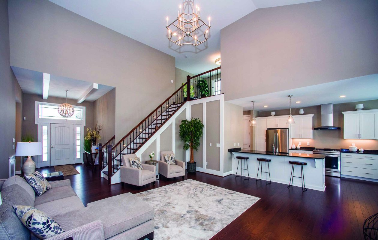 The home at 5395 Brianna's Nook in Clarence is serving as the model for Natale Builders new patio home community, the nearby Creekwood Meadows.