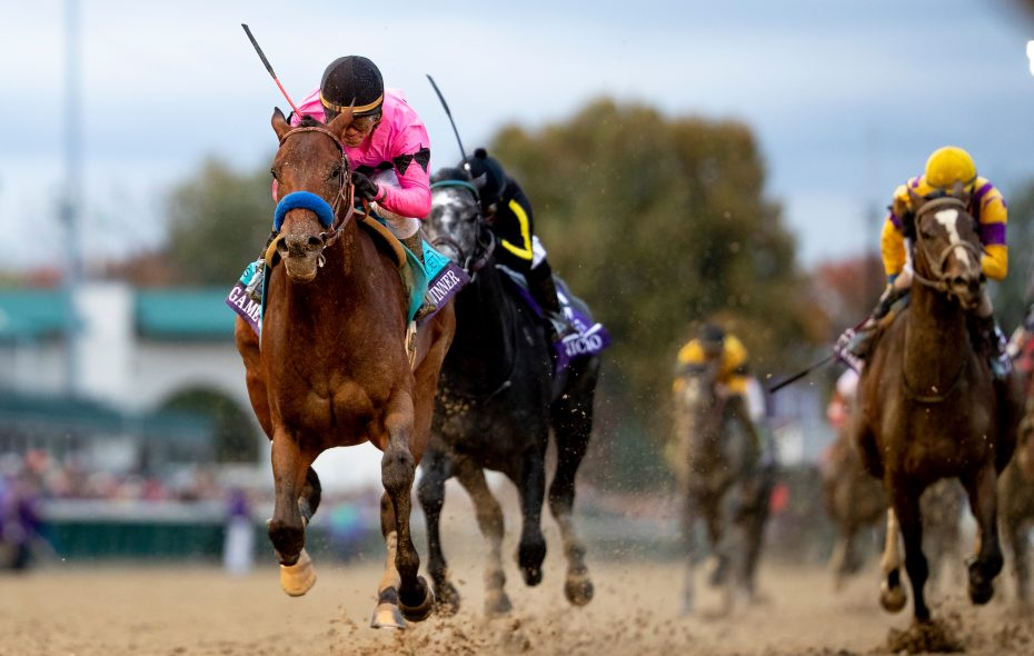 Game Winner, last year's BC Juvenile winner sits atop the NTRA top 3-year-old poll. (Alex Evers/Eclipse Sportswire/CSM /Breeders' Cup)