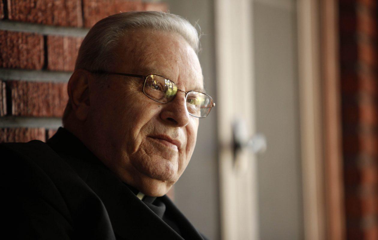 Former Buffalo Bishop Edward Kmiec served as Nashville's bishop from 1992 to 2004. (Derek Gee/News file photo)