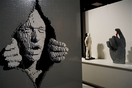 Art of the Brick: Lego art at Museum of Science