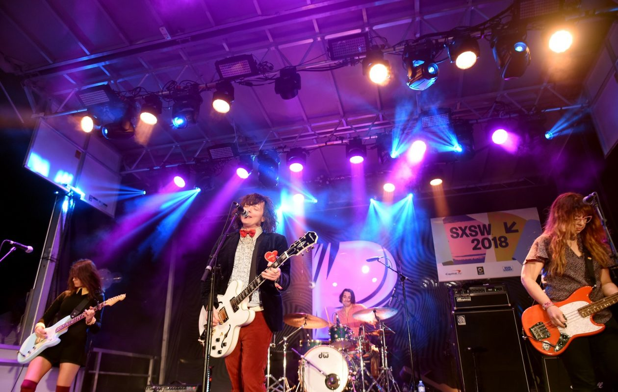 Beach Slang recorded their forthcoming EP in Buffalo with Goo Goo Dolls bassist Robby Takac in the production chair. (Getty Images)