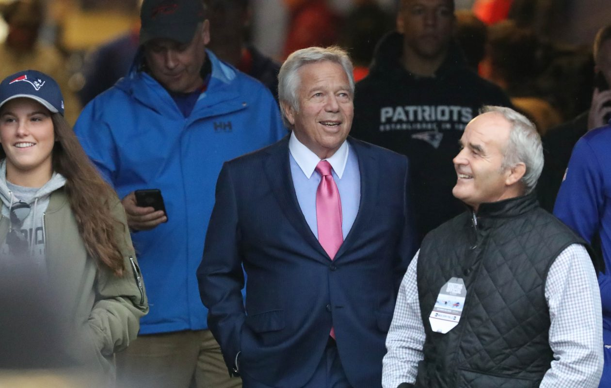 New England Patriots owner Robert Kraft. (James P. McCoy/News file photo)